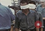 Image of Blindfolded Japanese Prisoners of War Pacific Theater, 1944, second 4 stock footage video 65675076125