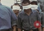 Image of Blindfolded Japanese Prisoners of War Pacific Theater, 1944, second 5 stock footage video 65675076125