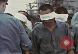 Image of Blindfolded Japanese Prisoners of War Pacific Theater, 1944, second 6 stock footage video 65675076125