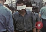 Image of Blindfolded Japanese Prisoners of War Pacific Theater, 1944, second 7 stock footage video 65675076125