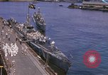 Image of American submarines arriving in home port Pearl Harbor Hawaii USA, 1944, second 1 stock footage video 65675076127