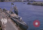 Image of American submarines arriving in home port Pearl Harbor Hawaii USA, 1944, second 2 stock footage video 65675076127