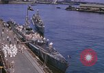 Image of American submarines arriving in home port Pearl Harbor Hawaii USA, 1944, second 3 stock footage video 65675076127