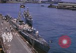 Image of American submarines arriving in home port Pearl Harbor Hawaii USA, 1944, second 4 stock footage video 65675076127