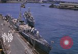 Image of American submarines arriving in home port Pearl Harbor Hawaii USA, 1944, second 8 stock footage video 65675076127