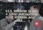 Image of Interior of USS Spadefish (SS-411) while submerged Sea of Japan, 1944, second 1 stock footage video 65675076137