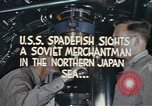 Image of Interior of USS Spadefish (SS-411) while submerged Sea of Japan, 1944, second 9 stock footage video 65675076137