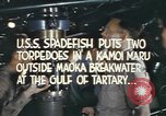Image of Interior of USS Spadefish (SS-411) during torpedo attack  Sea of Japan, 1944, second 5 stock footage video 65675076138