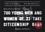 Image of American civilians Manitowoc Wisconsin USA, 1939, second 1 stock footage video 65675076139