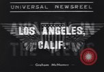 Image of DC-4 airplane Los Angeles California USA, 1939, second 5 stock footage video 65675076140