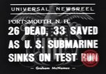 Image of rescue operations Portsmouth New Hampshire USA, 1939, second 7 stock footage video 65675076145