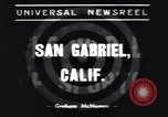 Image of Ken Wilhelm San Gabriel California USA, 1939, second 5 stock footage video 65675076152