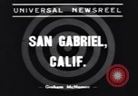 Image of Ken Wilhelm San Gabriel California USA, 1939, second 7 stock footage video 65675076152