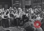 Image of Victory over Japan day Seattle Washington USA, 1945, second 9 stock footage video 65675076161