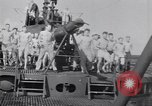 Image of Sailors do calisthenics aboard USS Nautilus SS-168 Pacific Ocean, 1942, second 2 stock footage video 65675076179