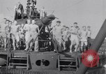 Image of Sailors do calisthenics aboard USS Nautilus SS-168 Pacific Ocean, 1942, second 3 stock footage video 65675076179