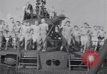 Image of Sailors do calisthenics aboard USS Nautilus SS-168 Pacific Ocean, 1942, second 4 stock footage video 65675076179