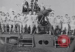 Image of Sailors do calisthenics aboard USS Nautilus SS-168 Pacific Ocean, 1942, second 5 stock footage video 65675076179