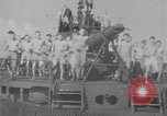 Image of Sailors do calisthenics aboard USS Nautilus SS-168 Pacific Ocean, 1942, second 7 stock footage video 65675076179