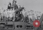 Image of Sailors do calisthenics aboard USS Nautilus SS-168 Pacific Ocean, 1942, second 8 stock footage video 65675076179