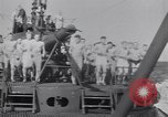 Image of Sailors do calisthenics aboard USS Nautilus SS-168 Pacific Ocean, 1942, second 9 stock footage video 65675076179