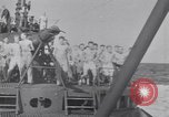 Image of Sailors do calisthenics aboard USS Nautilus SS-168 Pacific Ocean, 1942, second 10 stock footage video 65675076179