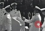 Image of medals awarded Pearl Harbor Hawaii USA, 1943, second 2 stock footage video 65675076194
