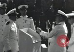 Image of medals awarded Pearl Harbor Hawaii USA, 1943, second 4 stock footage video 65675076194