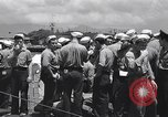 Image of Japanese prisoners Pearl Harbor Hawaii USA, 1945, second 5 stock footage video 65675076198