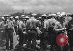 Image of Japanese prisoners Pearl Harbor Hawaii USA, 1945, second 8 stock footage video 65675076198