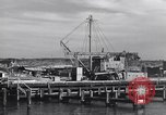 Image of torpedo at dock Montauk New York USA, 1944, second 3 stock footage video 65675076211