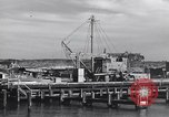 Image of torpedo at dock Montauk New York USA, 1944, second 8 stock footage video 65675076211