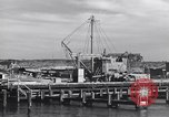 Image of torpedo at dock Montauk New York USA, 1944, second 11 stock footage video 65675076211