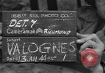Image of American engineers Valognes France, 1944, second 2 stock footage video 65675076260