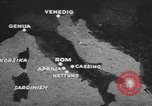 Image of German forces attack Allies from Monte Cassino Italy Cassino front, 1944, second 4 stock footage video 65675076266