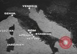 Image of German forces attack Allies from Monte Cassino Italy Cassino front, 1944, second 5 stock footage video 65675076266