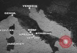 Image of German forces attack Allies from Monte Cassino Italy Cassino front, 1944, second 7 stock footage video 65675076266