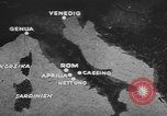 Image of German forces attack Allies from Monte Cassino Italy Cassino front, 1944, second 8 stock footage video 65675076266