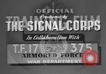 Image of American Army tanks United States USA, 1942, second 8 stock footage video 65675076279