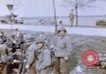 Image of U.S. 11th Armored Division near end of World War II Germany, 1945, second 9 stock footage video 65675076288