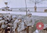 Image of U.S. 11th Armored Division near end of World War II Germany, 1945, second 10 stock footage video 65675076288