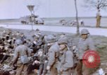 Image of U.S. 11th Armored Division near end of World War II Germany, 1945, second 11 stock footage video 65675076288