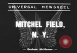 Image of remains of crashed Lockheed XP-38 airplane Mitchel Field Long Island New York USA, 1939, second 3 stock footage video 65675076312