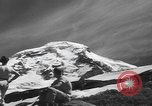 Image of damage from snow slide Mount Baker Washington USA, 1939, second 5 stock footage video 65675076322