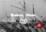 Image of American trawlers Boston Massachusetts USA, 1954, second 2 stock footage video 65675076332