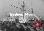 Image of American trawlers Boston Massachusetts USA, 1954, second 3 stock footage video 65675076332