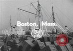 Image of American trawlers Boston Massachusetts USA, 1954, second 4 stock footage video 65675076332