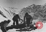 Image of avalanches United States USA, 1943, second 8 stock footage video 65675076350