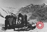 Image of avalanches United States USA, 1943, second 10 stock footage video 65675076350