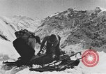 Image of avalanches United States USA, 1943, second 11 stock footage video 65675076350
